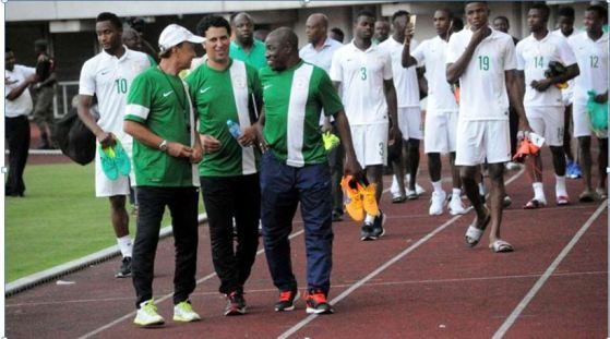 Image result for Super Eagles are going to Zambia to win, says Gernot Rohr
