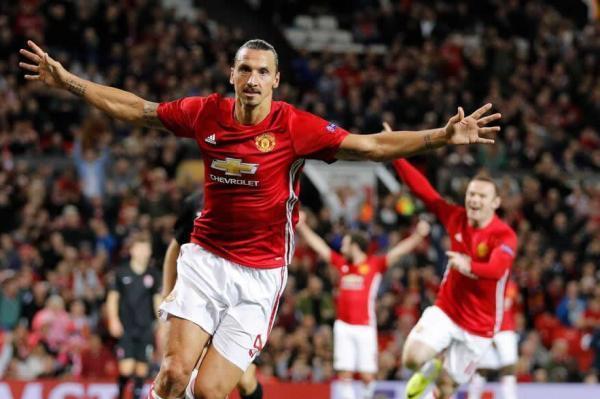 Ibrahimovic fires Man Utd to Europa League victory