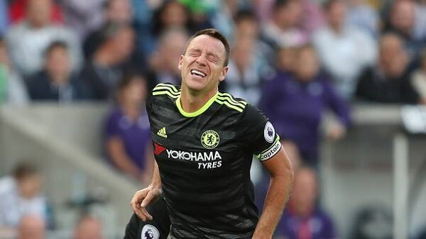 John Terry fails to recover for Chelsea visit to Arsenal