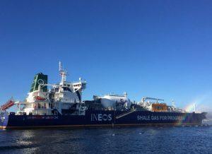 First U.S shale gas arrives Scotland