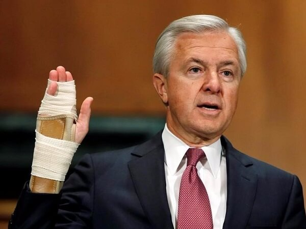 Wells Fargo CEO Stumpf to forfeit $41 million in unvested equity amid independent probe