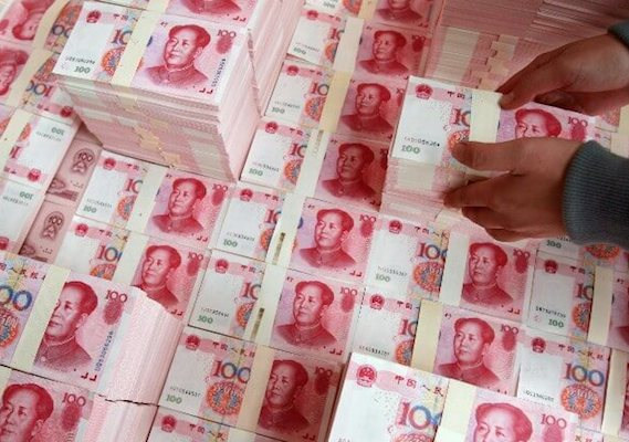 China foreign investment hits record high