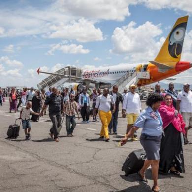 African budget carrier Fastjet's first international flight delayed