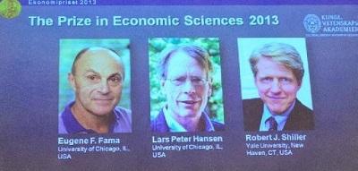Trio awarded Nobel economics prize