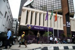Wema Bank rises to 1-Month high on capital approval