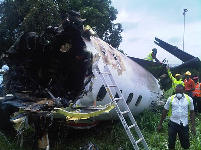 Plane crashes in Lagos, killing 9