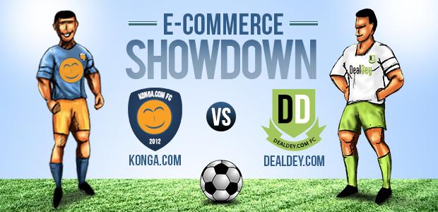 Konga, Dealdey's invitation to the Ultimate Ecommerce Showdown