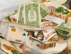 Naira steady against dollar on expected oil firm sales