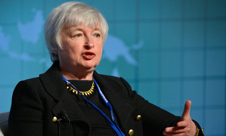 Janet Yellen, vice Chair of the US Federal Reserve