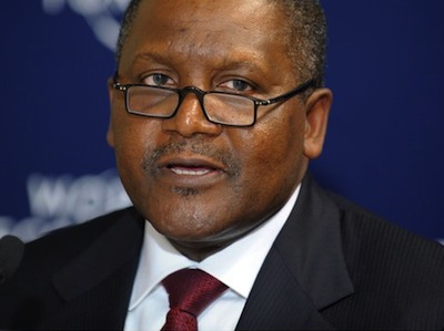 Aliko Dangote, Sahara finalising deal on other blocks