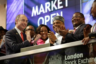 SEPLAT hosted at the London Stock Exchange as Chairman rings opening bell
