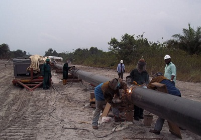 Image result for Escravos-Lagos Pipeline