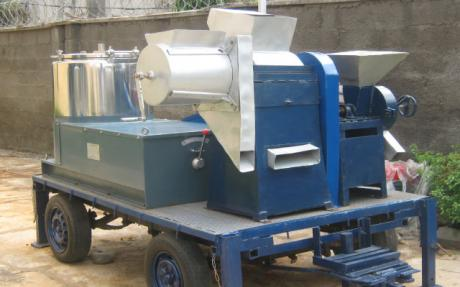 PRODA fabricates industrial cassava processing machine