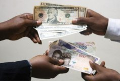 Inter-bank rates rise 15.78% as naira loses against dollar at forex market