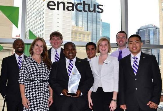 Creating student entrepreneurs  – The Enactus model