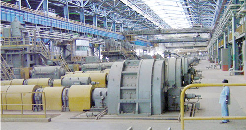 'Fraction of Ajaokuta Steel capacity capable of producing 600,000mtpa'