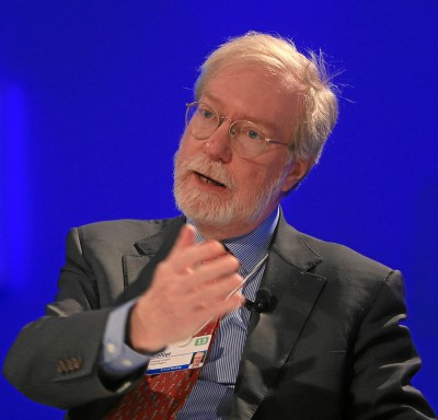 DAVOS/SWITZERLAND, 23JAN13 - Paul Collier, Professor of Economics, Department of Economics, University of Oxford, and Director, Centre for the Study of African Economies, United Kingdom; Global Agenda Council on Governance for Sustainability speaks during the arena session 'The Human Development Context' at the Annual Meeting 2013 of the World Economic Forum in Davos, Switzerland, January 23, 2013.  Copyright by World Economic Forum  swiss-image.ch/Photo Sebastian Derungs