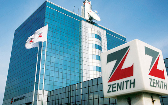 Zenith Bank profit grows on level interest expense, foreign currency gain