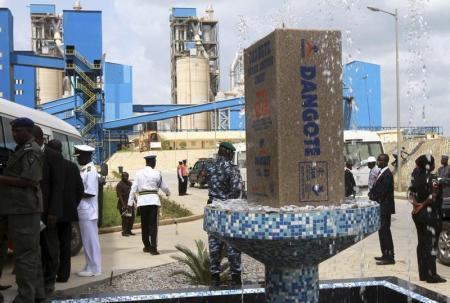 Nigeria stock index up 1.4 percent on Dangote Cement gains
