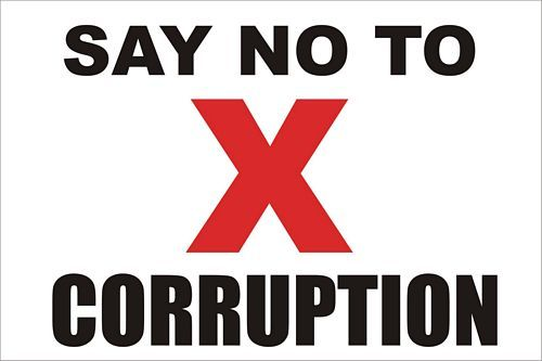 Is 10 percent corruption?