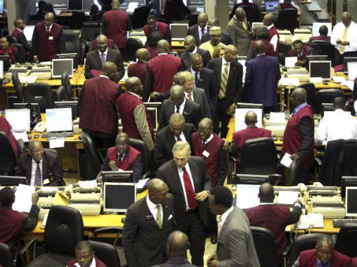 NSE records 36.59% decline in volume trade
