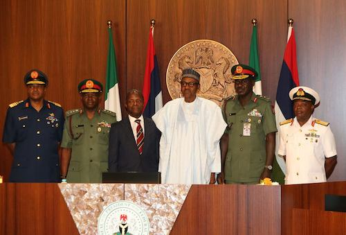 Why Buhari can't sack Service Chiefs now- SGF