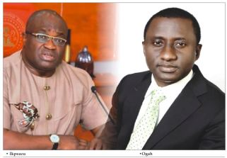 Abia governorship : Ikpeazu and Ogah in face off over 'self help'