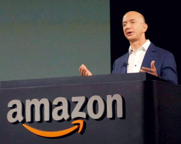 Amazon boss Bezos becomes world's third richest