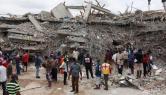 Lekki Gardens supports building collapse survivors