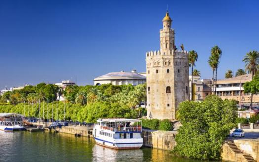A summer soiree in Seville