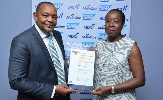 MainOne's Data Center certified to deliver Infrastructure services for SAP solutions