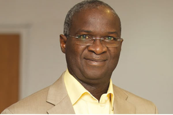 FG focuses on completion of road infrastructure projects under contract - Fashola