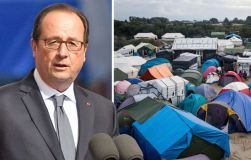 "Hollande vows to dismantle ""Jungle"" migrant camp"