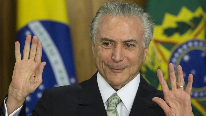 Michel Temer vows to spend political capital on reforming Brazil - Businessday NG