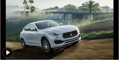 Rumble Seat: Dan Neil Reviews the Maserati Levante SUV