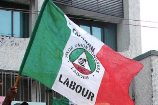 2,000 LG workers protest sack by Imo Govt. at NLC secretariat