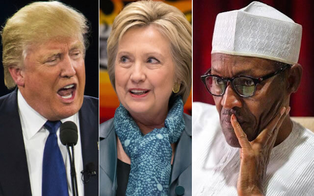 "Buhari ""too old"" to rule Nigeria...but American Clinton and Trump were ignored!"