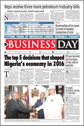 BusinessDay 29 Dec 2016