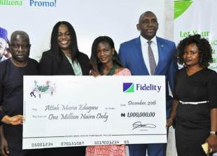 Fidelity Bank begins New Year with empowering more customers