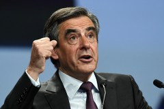 Fillon tries to restart campaign after claims over wife's 'fake job'