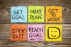 4 secrets to achieving your goals