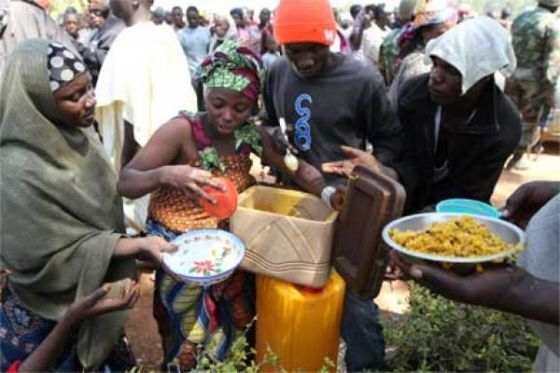 Borno IDPs appeal to government on poor feeding
