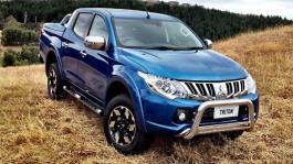 Retooled Mitsubishi's new Triton set for market