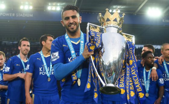 Leicester winger Mahrez favourite to win CAF award
