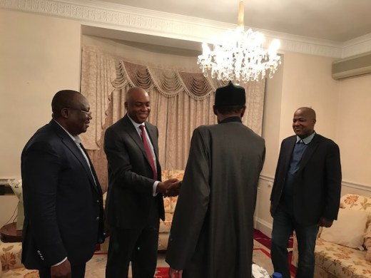 Buhari in high spirits, says Saraki