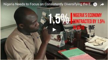 Nigeria Needs to Focus on Consistently Diversifying the Economy – Ayere Sonnie