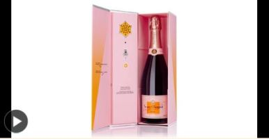 A Valentine's Day Champagne With a Programmable Message