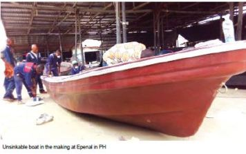 How they make unsinkable boats in Port Harcourt