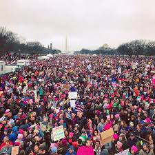 The women's march in my living room