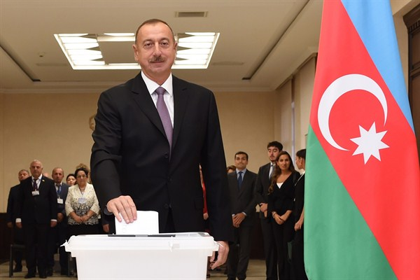 Azerbaijan's Aliyev tightens his grip by installing wife as deputy president